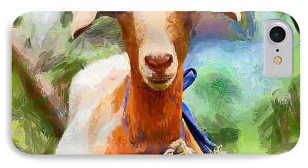 Just A Goat IPhone Case by Kai Saarto