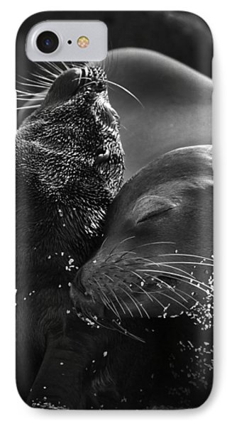 Just A Little Lower Mom IPhone Case by Gary Hall