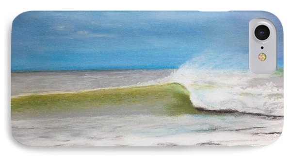 Just A Wave IPhone Case by Stan Tenney