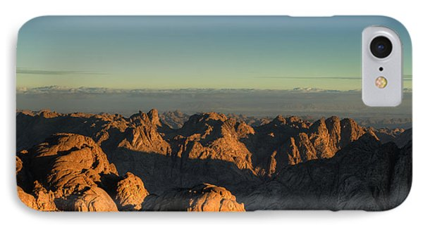 IPhone Case featuring the pyrography Just After Sunrise by Julis Simo