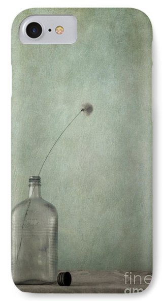 Just An Old Bottle And Its Cap Phone Case by Priska Wettstein