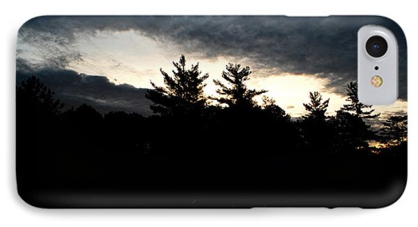 IPhone Case featuring the photograph Just Before Sunrise by Lila Fisher-Wenzel