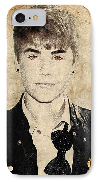 Just Bieber Phone Case by Dancin Artworks