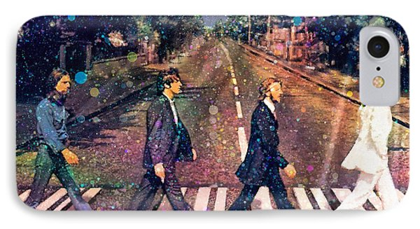 Just Crossing The Street Phone Case by Angela A Stanton