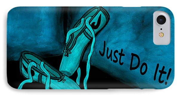 Just Do It - Blue IPhone Case
