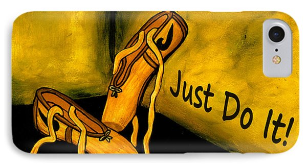Just Do It - Yellow IPhone Case