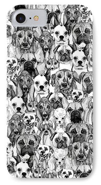 Just Dogs IPhone Case by Sharon Turner
