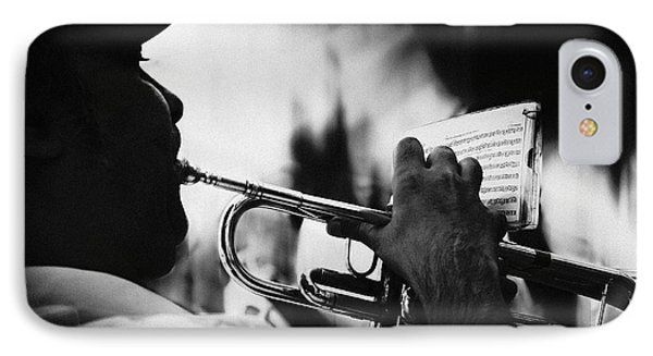 Trumpet iPhone 7 Case - Just Follow My Lead by Rui Correia
