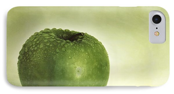 Just Green IPhone Case by Priska Wettstein