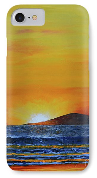 Just Left Maui IPhone Case by Suzette Kallen