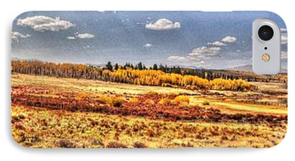 Just North Of Fairplay Colorado IPhone Case by Lanita Williams