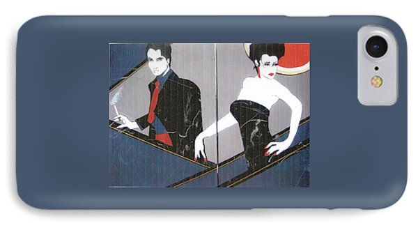 IPhone Case featuring the painting Just Passing By by Nora Shepley