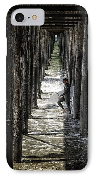 Just Passing Through Phone Case by Joan Carroll