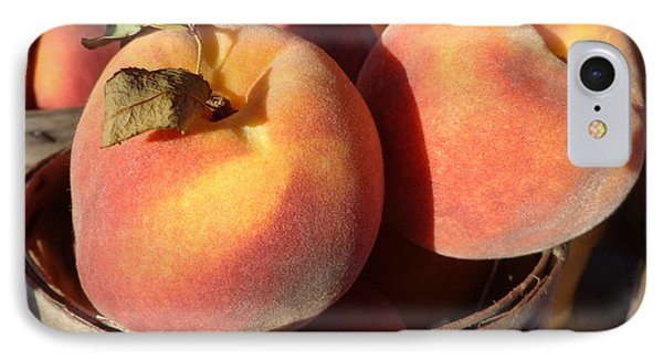 Just Peachy IPhone Case by Joseph Skompski