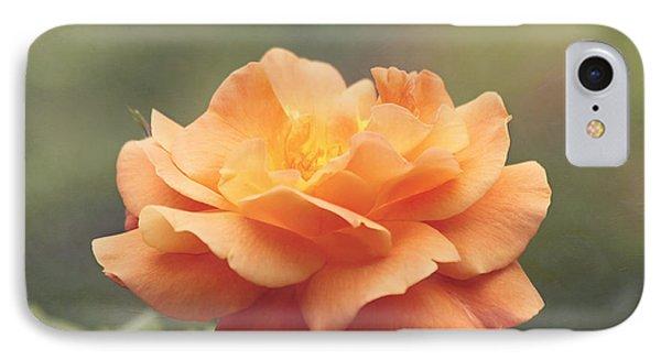 Just Peachy - Rose IPhone Case by Kim Hojnacki