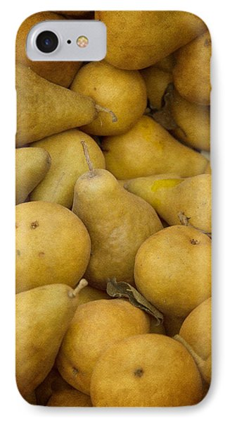 Just Pears IPhone Case by Rebecca Cozart