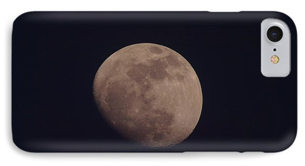 Just The Moon Phone Case by Jeff Swan