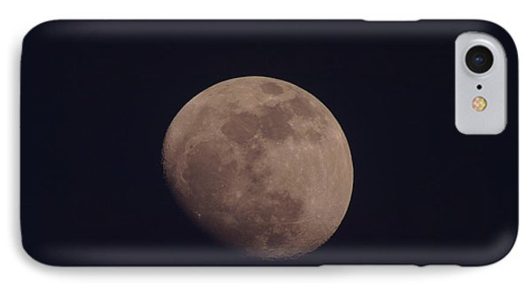Just The Moon IPhone Case by Jeff Swan