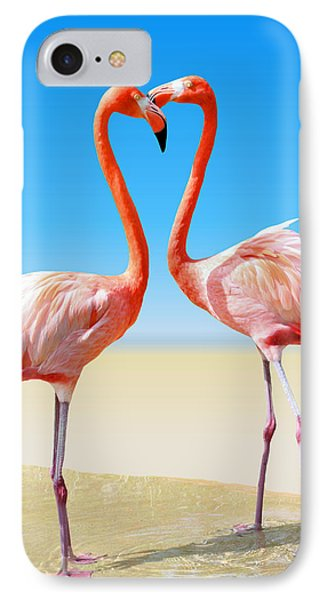 Just We Two IPhone Case by Kristin Elmquist