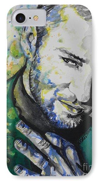 Justin Timberlake...01 IPhone Case by Chrisann Ellis