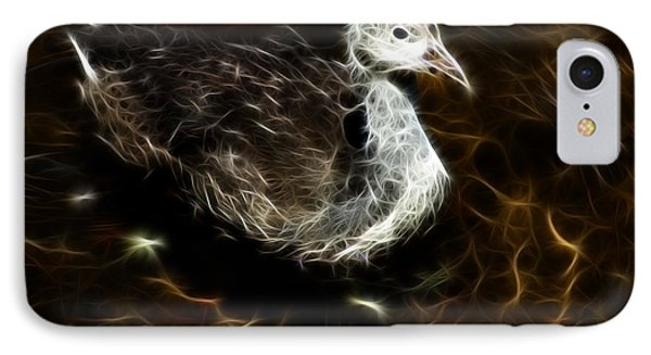 Juvenile Coot 9042 - F Phone Case by James Ahn
