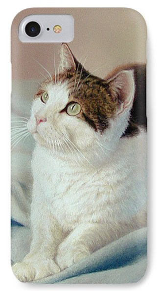 K C  Kitty Cat Phone Case by Barbara Groff
