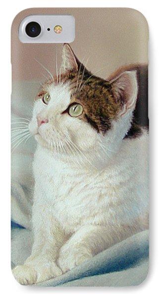 K C  Kitty Cat IPhone Case