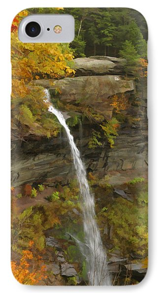 Kaaterskill Falls IPhone Case by Gregory Scott