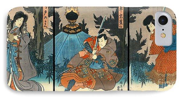 Kabuki Samurai 1847 IPhone Case