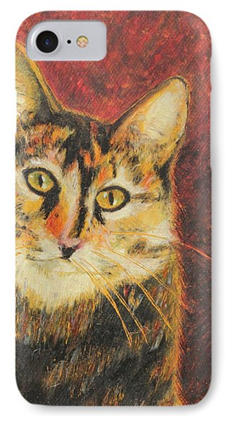 IPhone Case featuring the painting Kaco by Jeanne Fischer