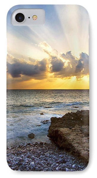 Kaena Point State Park Sunset 2 - Oahu Hawaii IPhone Case by Brian Harig