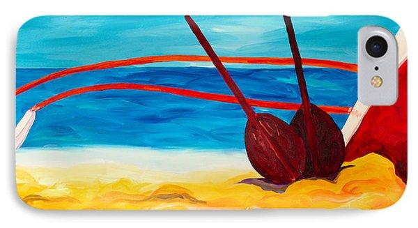 Kaeti's Canoe Phone Case by Beth Cooper