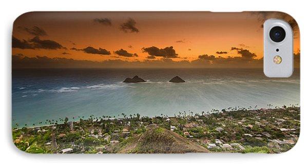 Kailua Bay Sunrise IPhone Case