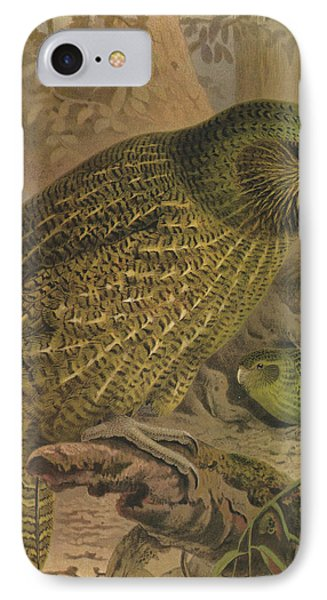 Kakapo IPhone Case by Rob Dreyer