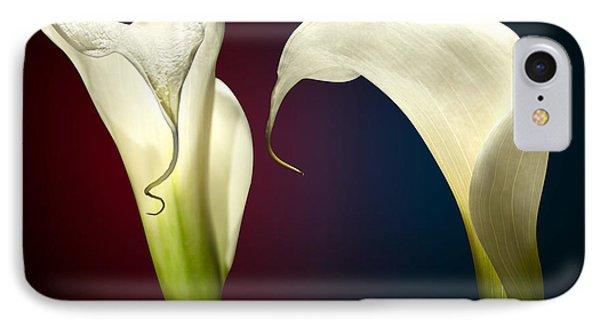 Cala Lily 3 IPhone Case by Mark Ashkenazi