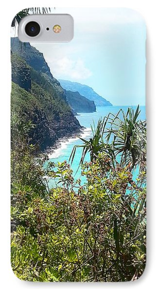 Kalalau Trail On Kauai Phone Case by Joseph J Stevens