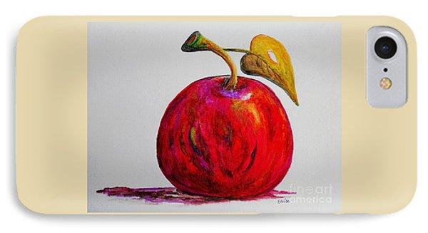 Kaleidoscope Apple -- Or -- Apple For The Teacher  Phone Case by Eloise Schneider