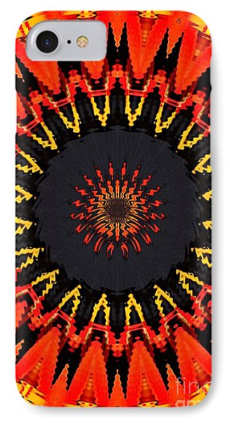 Kaleidoscope Aztec IPhone Case