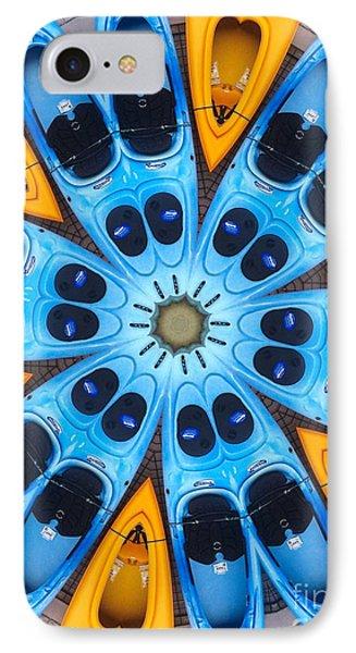 Kaleidoscope Canoes IPhone Case