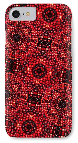 Kaleidoscope Cranberries Phone Case by Amy Cicconi