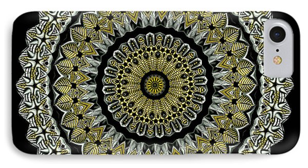 Kaleidoscope Ernst Haeckl Sea Life Series Steampunk Feel Phone Case by Amy Cicconi