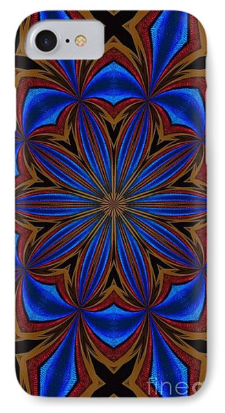 Kaleidoscope Feathers Four IPhone Case