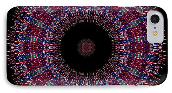 Kaleidoscope Fireworks IPhone Case