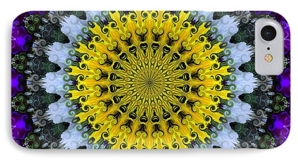 Kaleidoscope Flowers IPhone Case