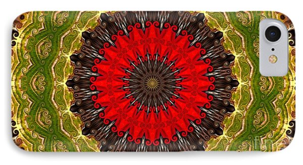 Kaleidoscope Leaves IPhone Case