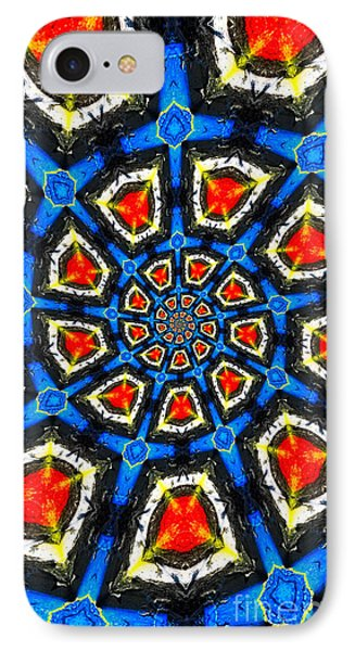 Kaleidoscope Of Primary Colors Phone Case by Amy Cicconi