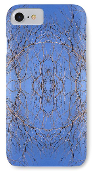 Kaleidoscope - Trees 1 IPhone Case by Andy Shomock