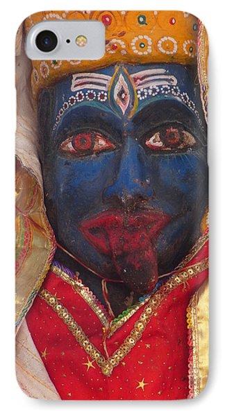 Kali Maa - Glance Of Compassion IPhone Case by Agnieszka Ledwon