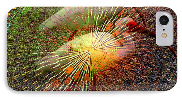IPhone Case featuring the digital art Kalidescope Of Ibis by Irma BACKELANT GALLERIES