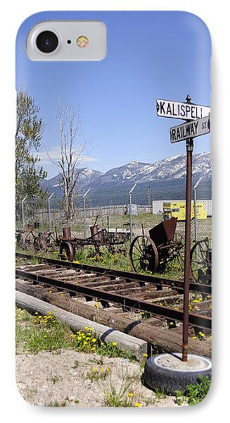 Kalispell Crossing IPhone Case by Fran Riley